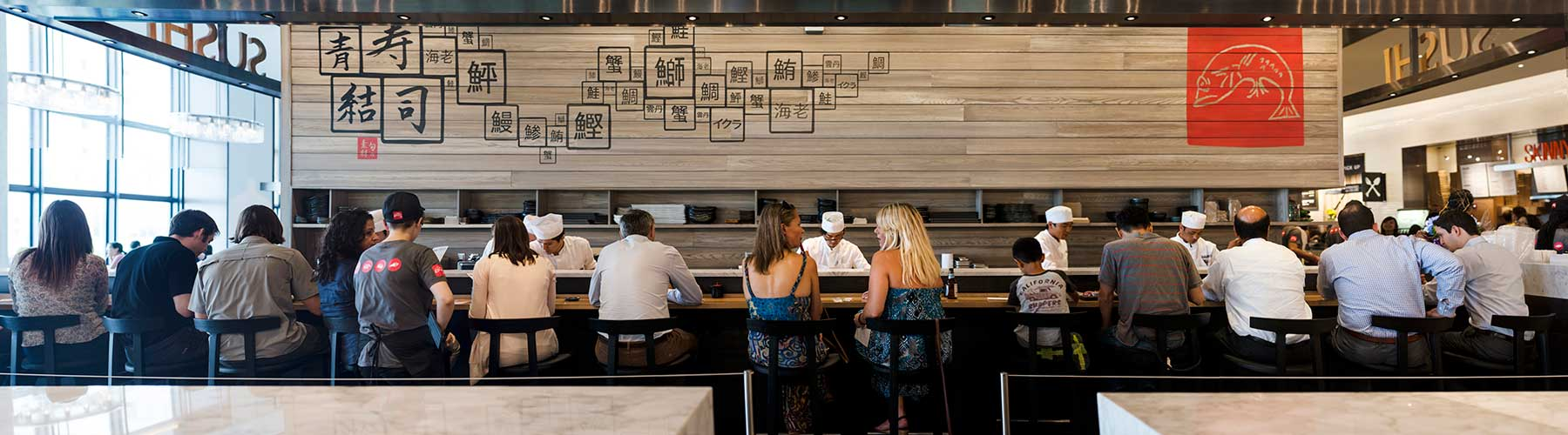 Sushi Bar at Hudson Eats at Brookfield Place